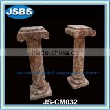 Natural red marble roman column /pillar