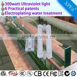 electroplating factory waste water treatment 300watt uv
