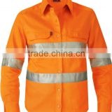 High Vis Work Jacket,Coverall fire retardant jacket/ anti fire suit Fire fighting jacket with reflective tape