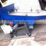 China factory customizable linear vibrating screen inclined kitchen waste filtering soup water separator