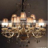 Pastoral fashion white crystal lighting lamps living room lights Alice                                                                         Quality Choice