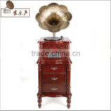 Manufacturers shipping vinyl phonograph machine antique retro wooden decoration style of a Bluetooth radio CD player