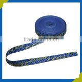 High Quality 1.5CM Polyester Jacquard Braided Webbing Rope