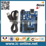 Newest Version Microcontroller Atmega328 UNO R3 Development Board with Cable and Pin Header