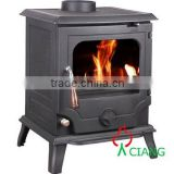 wood burning stove with oven