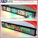 digital message display board,indoor full color/three color led car message sign board,led running message display sig