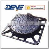 Manhole Cover with Square Frame in Materal of Cast iron or Ductile Iron