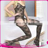 Wholesale Ladies Open Crotch lace bodystocking lingerie