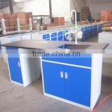 Kitchen stainless steel sink work table/stainless steel drawers lab work bench/selling lab furniture