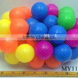 Clear plastic ball pit balls plastic play pit balls clear colored plastic balls 8cm 50pcs/bag