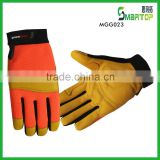 Professional custom LOGO cabretta leather golf gloves