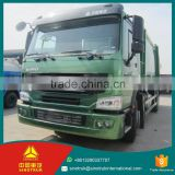 ZF8098 Steering howo 290HP 8t capacity garbage compactor truck for sale / 4*2 garbage truck