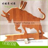 Small kitchen designs animals wine racks made of bamboo