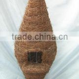 bird house,bird nest,garden decoration,garden items,rattan craft,handicraft,woven crafts,rustic home decor,garden ornament