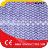 Low Lint Color Apertured Nonwoven Mesh Viscose Spunlace Non Woven Fabric
