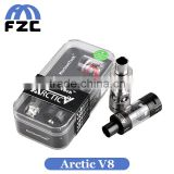 New Poducts 2016 Hot Electronics Sub Ohm TC Tank Clearomizer 4ml Top Filling Original Horizon Arctic V8