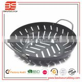 Hot Sale Pre-season Non-stick Grill Pan/ Cast Iron Griddle Cookware /BBQ Fry Pan