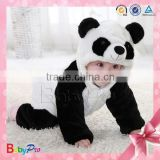 High Quality Comfortable Organic Cotton Baby Clothes Winter Baby Animal Jumpsuit Pajama