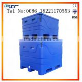 big size ice fish container ice fish tub insulated fish bin fish cooler box produced by roto-molded                                                                         Quality Choice