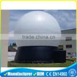 2016 giant white single layer inflatable air dome tents for projection                                                                                                         Supplier's Choice
