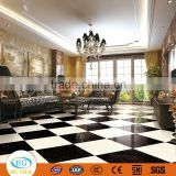 60x60 Luxury black gold pulati flower series flooring double charge vitrified tile