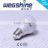 Hot Sale wegshine 3W Led E27 Bulb Ceramic+PC night Lighting Indoor Bulbs with CE UL Approved pirce