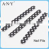 Nail Art Care Shining And Polishing White Dot Embery Board Nail Files Manufacturer