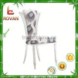 brushed stainless steel dining chair wholesale cheap banquet chair