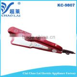 Professional LCD Hair Straightener With PTC Heating element