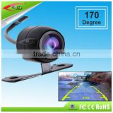 Keyhole Type Night Vision car Camera 170 Degree Wide Angle CMOS Color IP67 Hidden Cameras for Cars