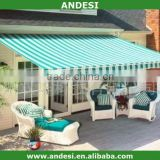 folding retractable car awning