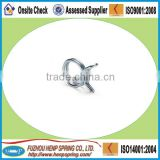 round wire tube spring clips