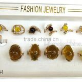 Wholesale baltic amber new design finger ring                                                                         Quality Choice
