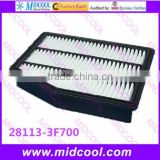 High quality air filter cabinfilter for 28113-3F700 281133F700