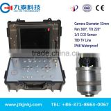 GT-200Y Waterproof pipe plumbing detection camera CCTV city supply water pipeline inspection video camera