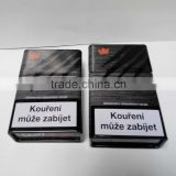 New style hot sale black tin can, cigaette packing tin box, metal cigarette case                                                                         Quality Choice