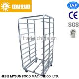 32 Trays Stainless Steel Baking Trolley for Rotary Oven Baking Tray Racks
