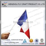 Multifunctional plastic waving national hand flags
