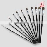 Professional Half Round Mixed Hair Gouache Brush Suitable For Examination