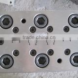 cable cover mould,plastic cable cover extrusion mould,cable duct mould