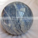 2015 new arrival factory direct rough blue aventurine stone ball for Healing