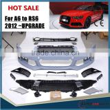 NEWest ARRIVAL!!! For AUDI A6 to RS6 body kits for A6 modification