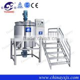 Yuxiang JBJ-1000L price of bleach water making machine stainless steel mix tank