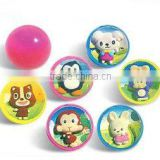 Promotional Toy Wholesale Perspective Solid Ball Small elasticity balls toys Custom Bouncy Balls
