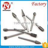 sintered YG8 fresh material tungsten carbide rotary burrs