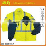 Anti-static Wholesale high visibility Reflective safety workwear, overall workwear, fluorescent wears