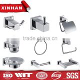 hotel bathroom accessories set with towel bar paper holder stainless steel bathroom accessory