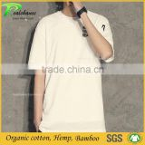 wholesale organic cotton bamboo dri fit t shirts short sleeve shirts for men
