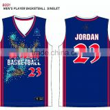 2016 Uniform Design basketball jersey t-shirts