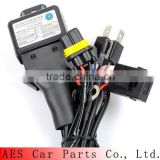 Top Quality Wire Harness For Car Projector Lens, Accessory Bixenon h4 harness for Projector Headlight
